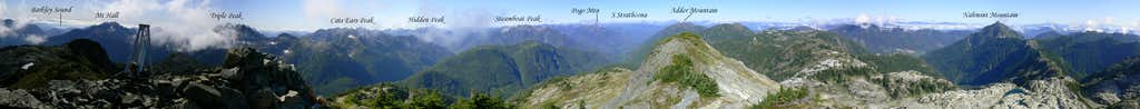 5040 Peak Summit Panorama