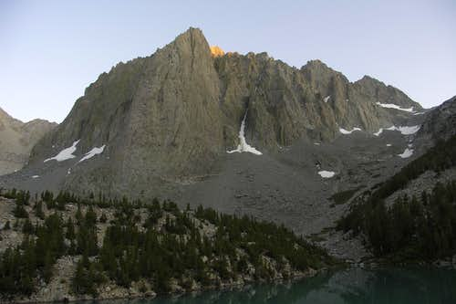 Alpine Glow on Temple Crag