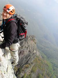 Via Ferrata degli Artisti - Almost there