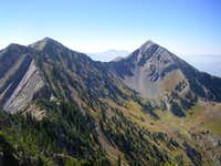 Provo Peak and peak 11,044