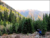 Mt. Belford - Nearing the Cabin