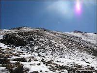 Mt. Belford - Looking up the West Ridge