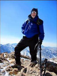 Mt. Belford - Alan Arnette on the Summit