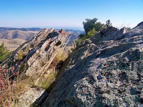 The Centennial Cone Summit Area
