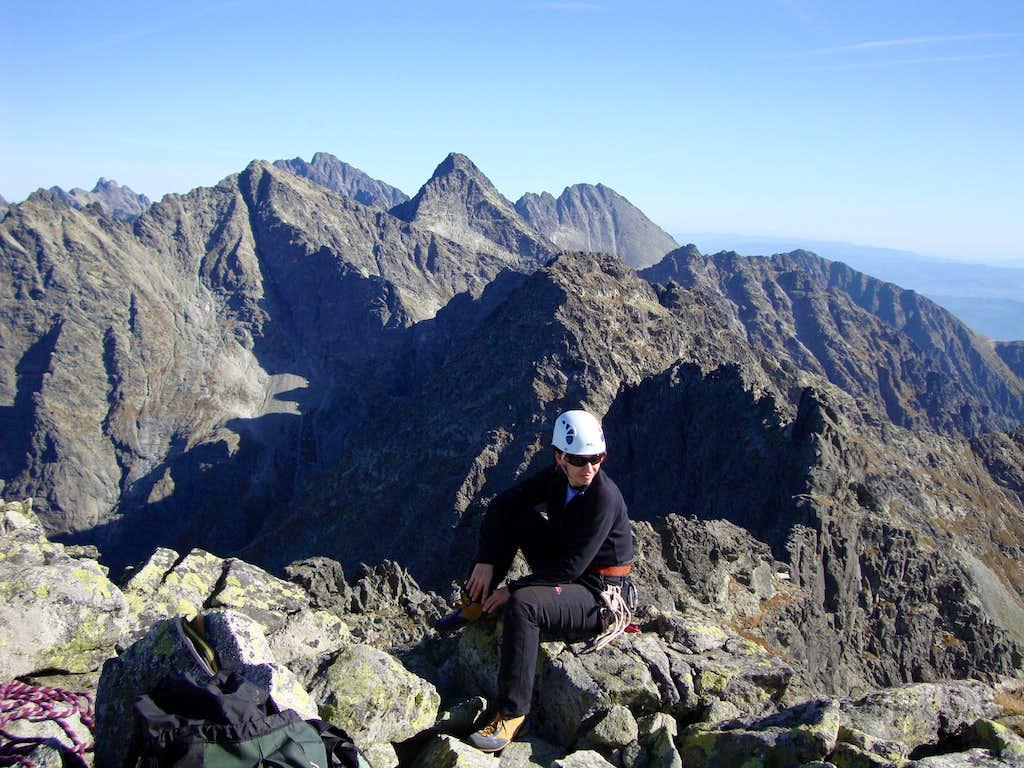 On Mieguszowiecki Wielki summit (2438m)