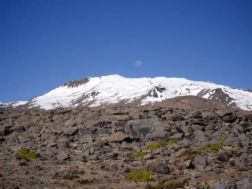 Solo Summit of Nevado Firura