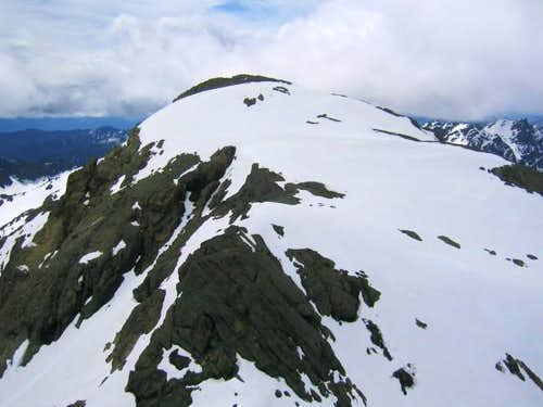 South Ingalls Peak seen from...