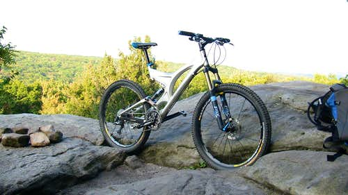 Bike at the Beam Rocks