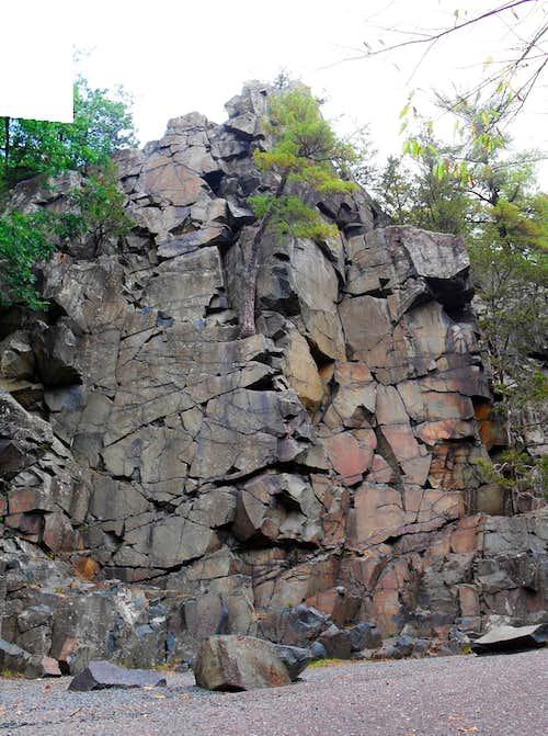 Tourist Rocks aka Cornice Rock