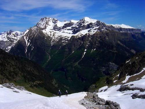 View of the ridge...