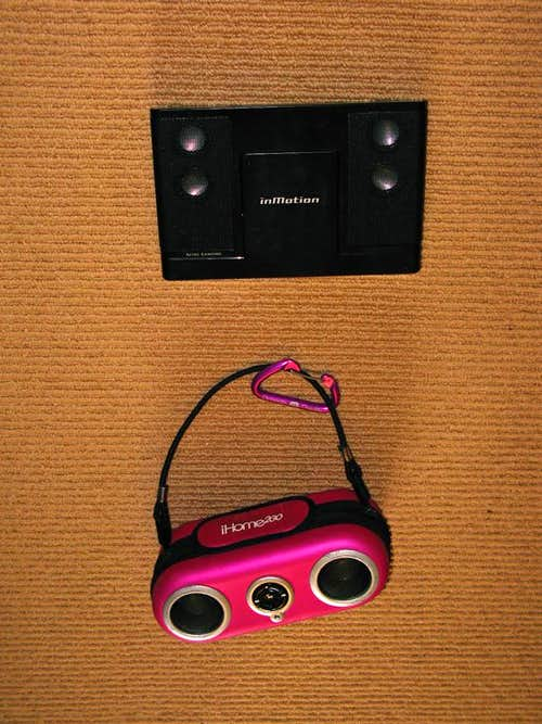Musical Backpack speakers