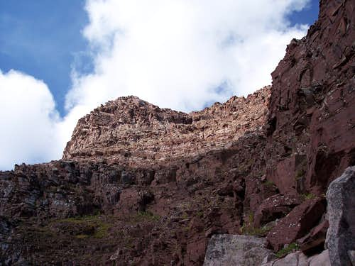 The Top of the Second Gully