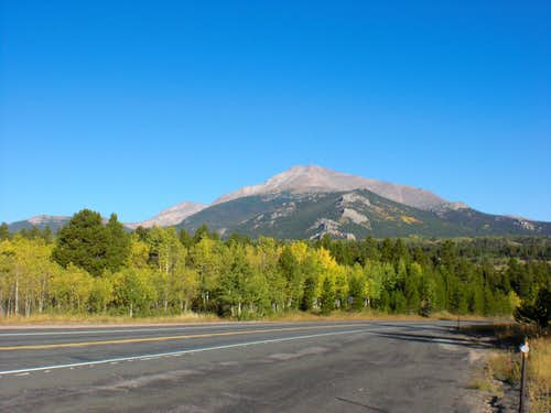 Mt. Meeker from CO7