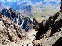 Stony Mountain from Southeast Couloir