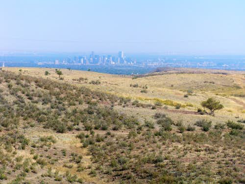 Denver from the Mesa Top