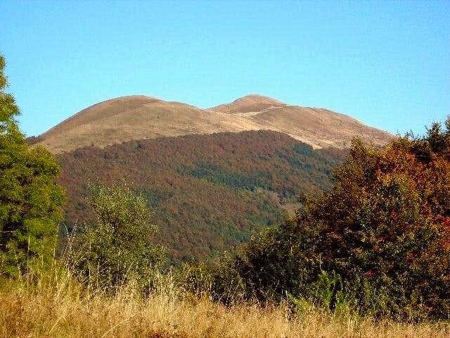Mount Polonina Carynska (1297 m)