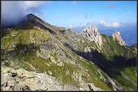 Pfannspitze / Cima Vanscuro from the E