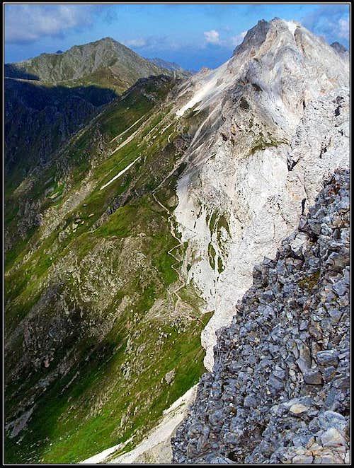Pfannspiotze / Cima Vanscuro and Kleine Kinigat / Monte Cavalatto