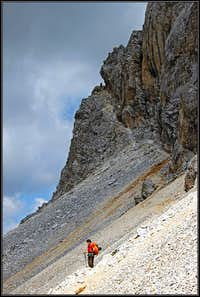 Grosse Kinigat / Monte Cavallino south wall ferrata