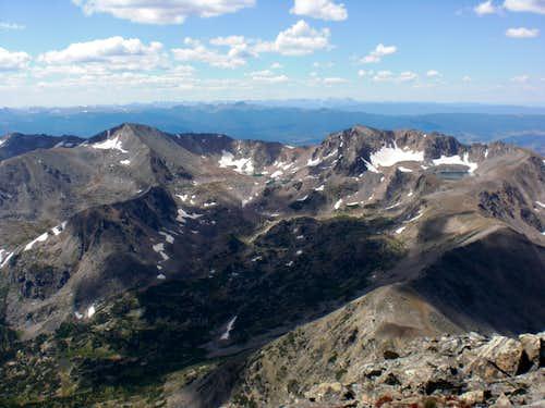 Jasper Peak and Mount Neva
