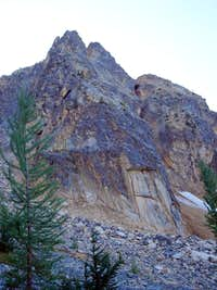 Pica / Poster Peak, Blue Buttress