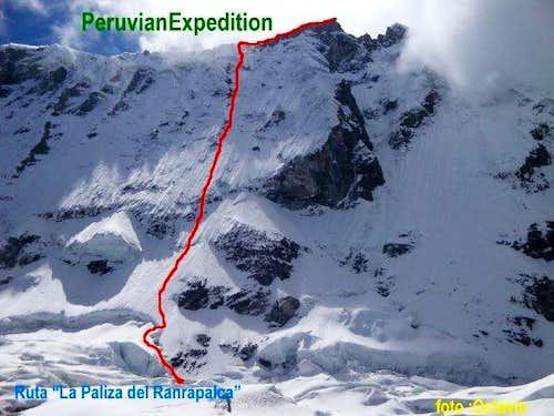 New routes in Cordillera Blanca Ranrapalca 2009 – Peruvian Expedition