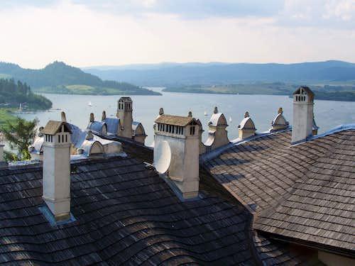 Outlook from Castle Niedzica/Nedec