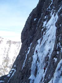 Myself and Len on pitch 3.  Taken from Zero gully by Gillian