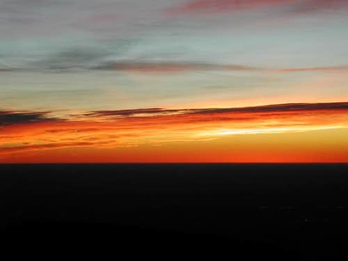 Sunrise shot over Colorado...