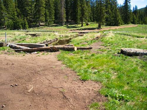 Trailhead for Nelsons Trail...