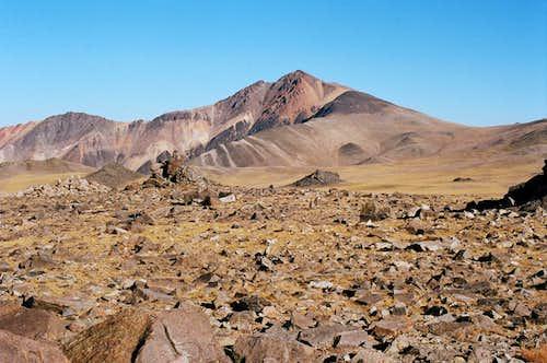 First view of White Mountain Peak