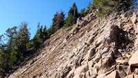 Descending Freedom Peak