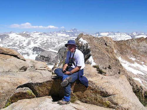 Walt on the summit of Mt....