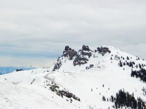 Castle Peak viewed from...