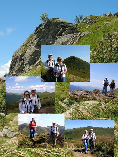 Summer 2009 in the Bieszczady Mountains