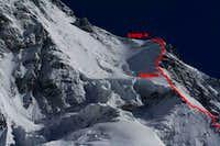 K2 Mountain Map Cesen Route to C4 : Photos, Diagrams & Topos : SummitPost