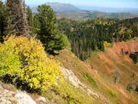 North Peak northeast ridge