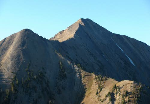 Mount Nebo from North Peak ridge