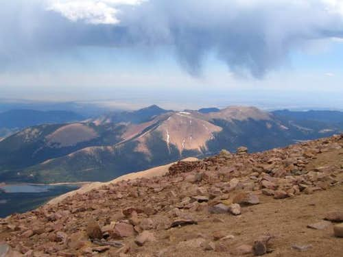 Mount Rosa from the summit of...