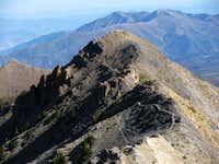 Nebo north sub-peak