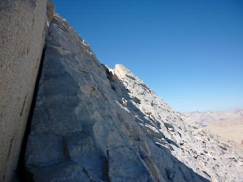 Glaciated granite