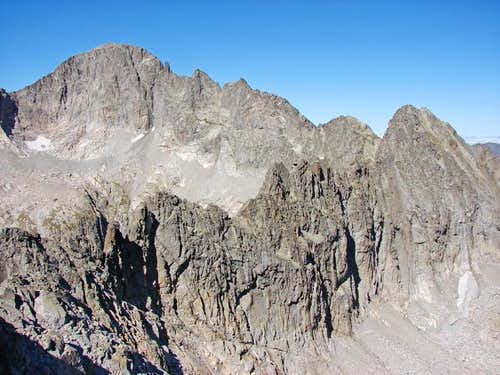 Balaitous and devil\'s ridge