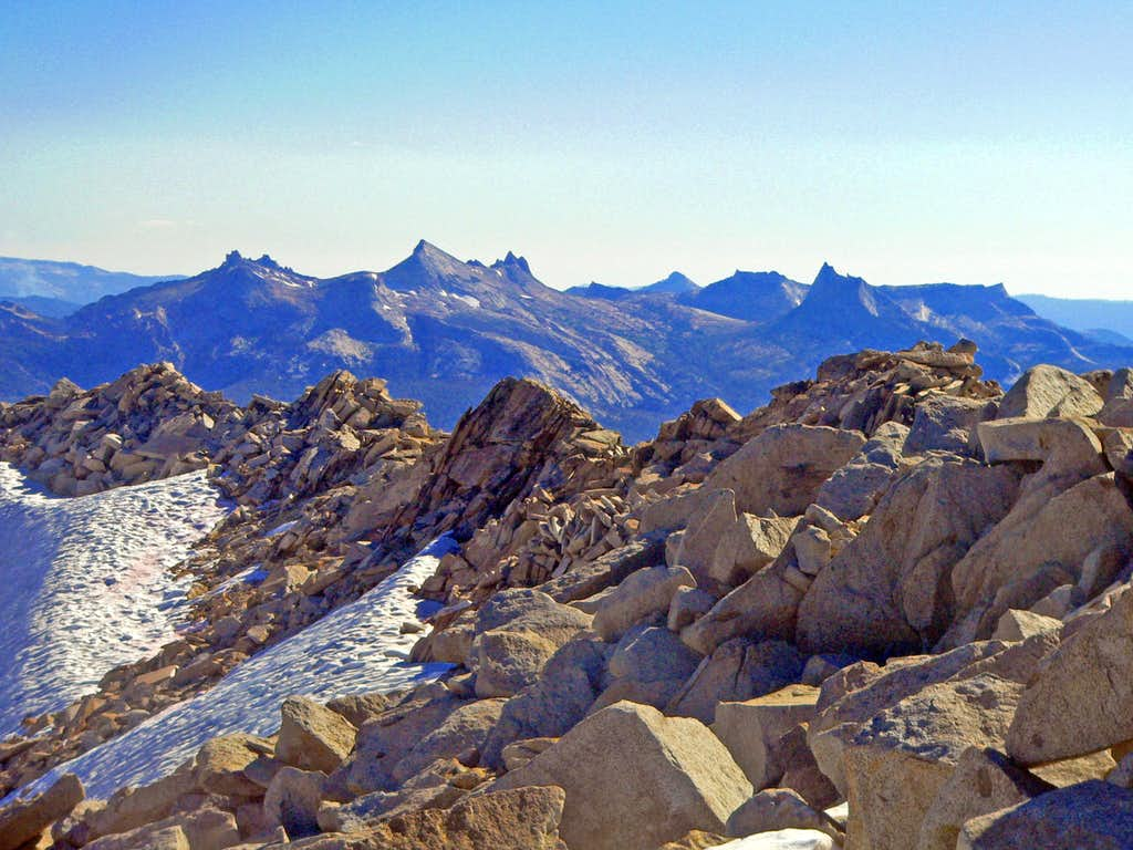 Cathedral Range from