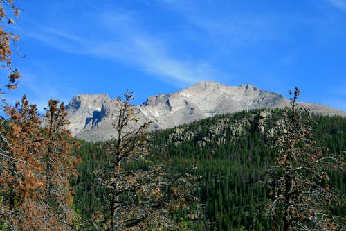 Mount Meeker from Wild Basin
