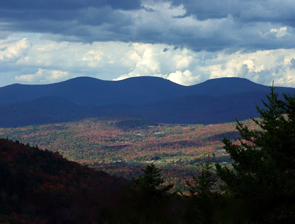 The Blackhead Range