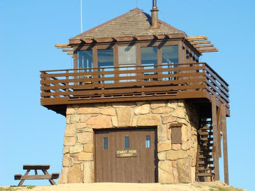 Cement Ridge Lookout Tower