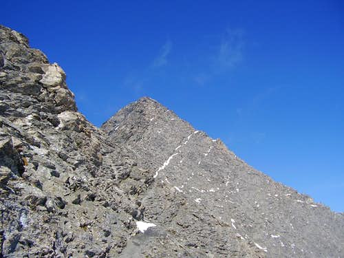 The summit of Rocciamelone