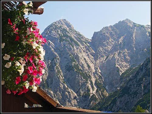 Jezerska Baba and Ledinski vrh