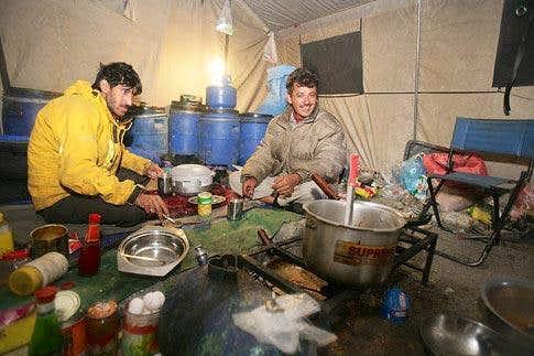 Jasmine Tours Kitchen on Trango BC