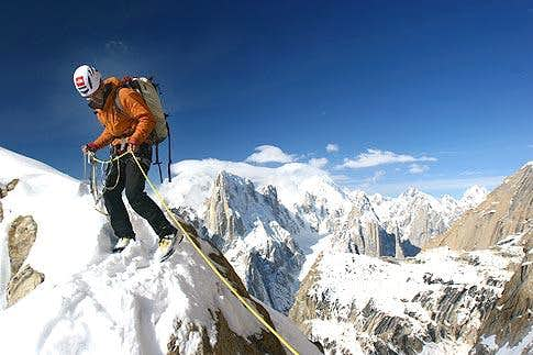Trango upper section